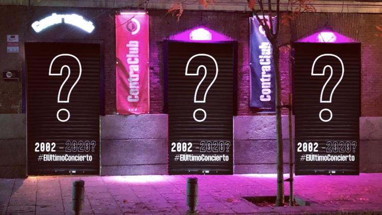 ContraClub Madrid. Sala de conciertos