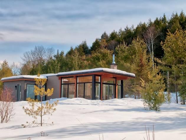 Modern Chalet in Wakefield, Québec