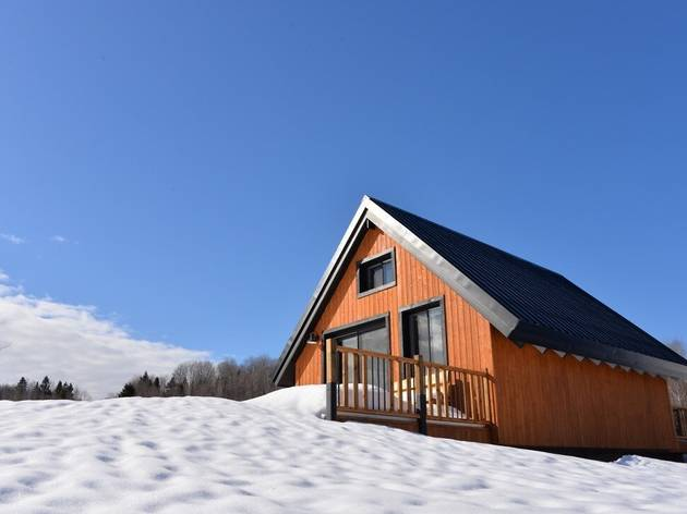 Rustic Chic Cottage in Sainte-Mélanie, Québec