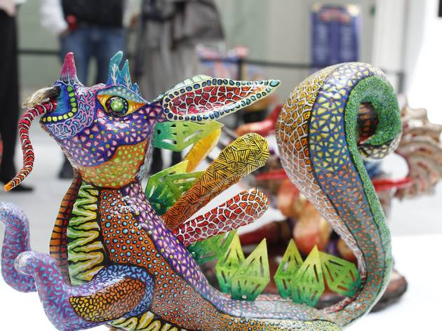 Alebrijes miniatura en el MAP (Foto: Cortesía MAP)