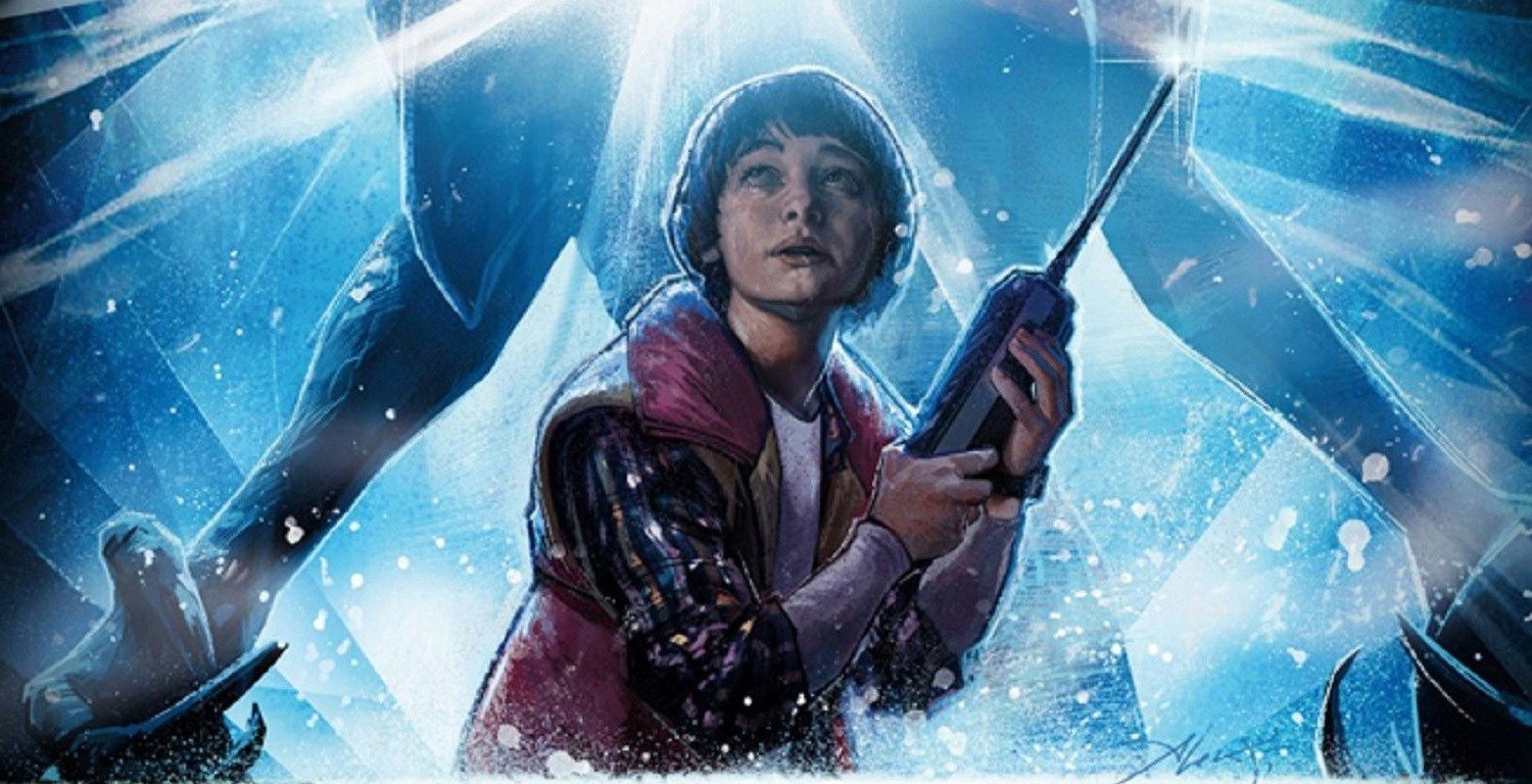 Ilustración de Will de Stranger Things en el Upside Down