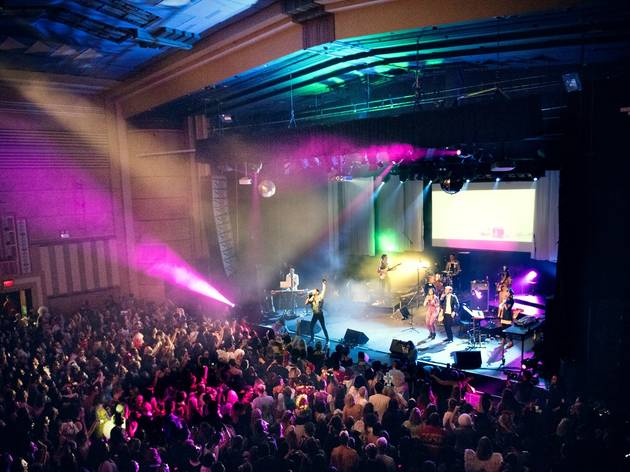 Young Hearts Run Free event at the Enmore Theatre.