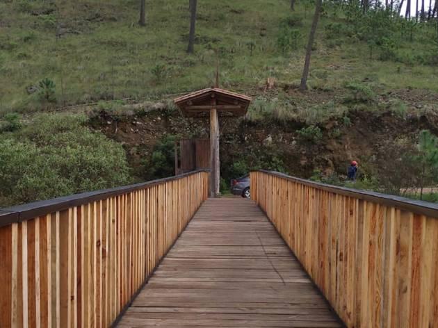 Puente en el Parque Ecoturístico Corral de Piedra