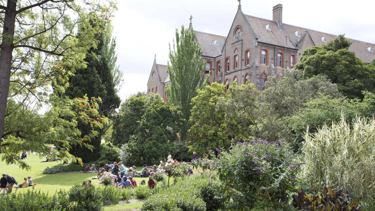 exterior of Abbotsford Convent