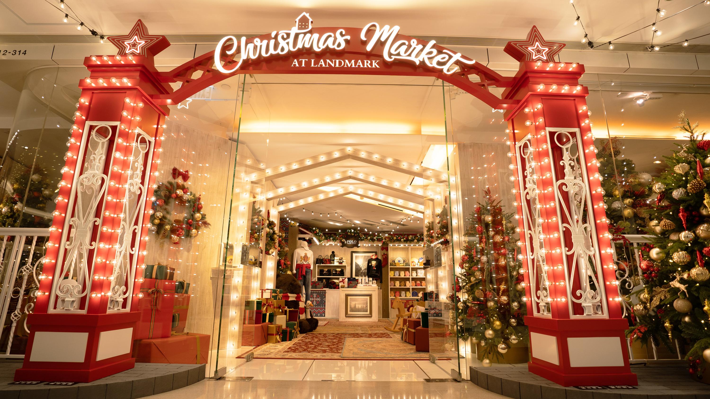 Landmark christmas market