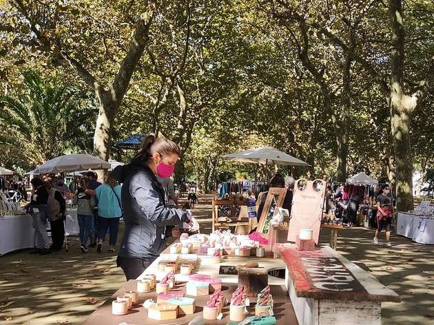 Mercado da Alegria no Jardim do Passeio Alegre
