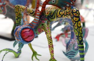 Alebrijes miniatura (Foto: Cortesía Museo de Arte Popular)