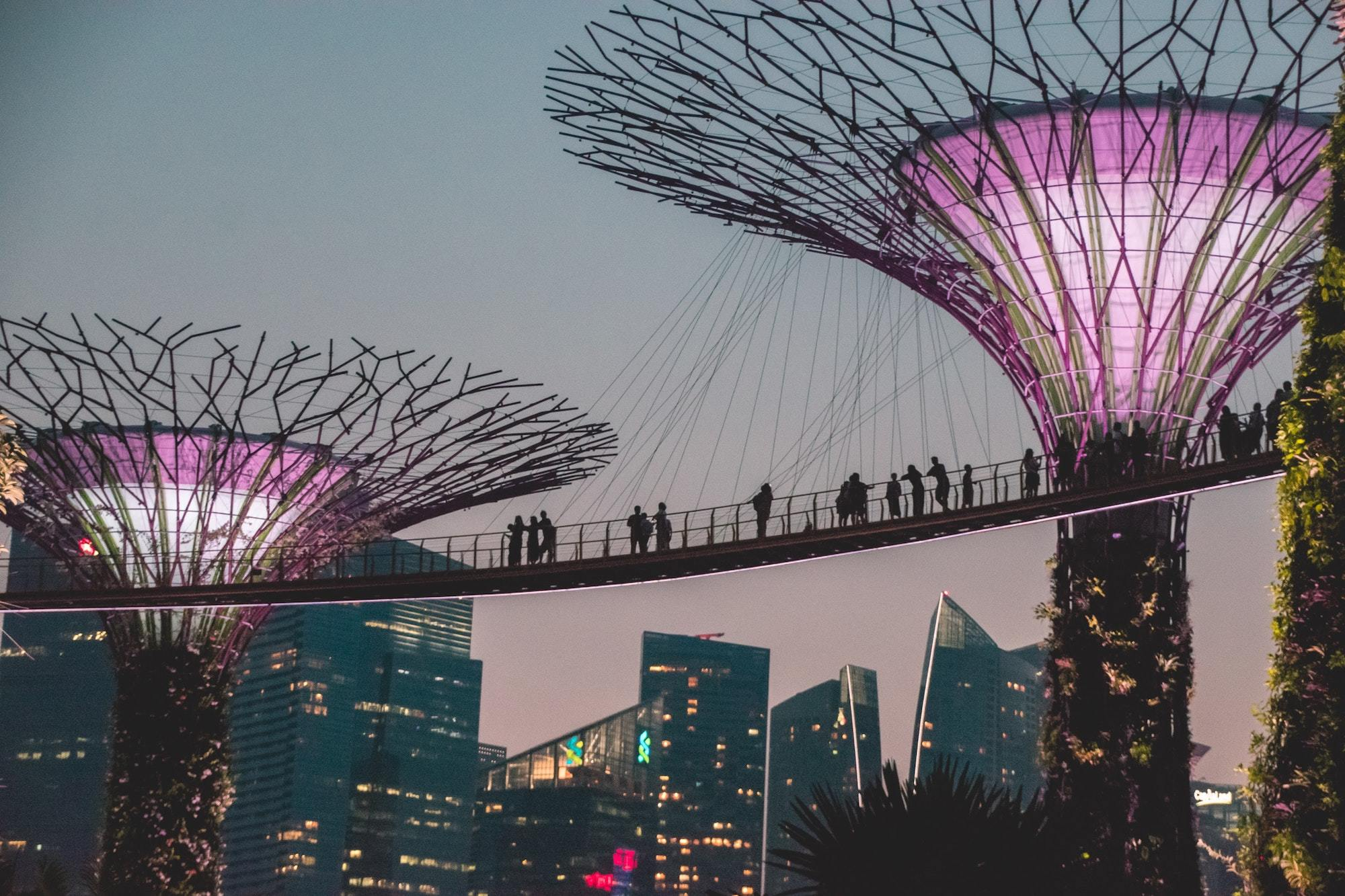 Singapore ranks seventh on the World's Best Cities list