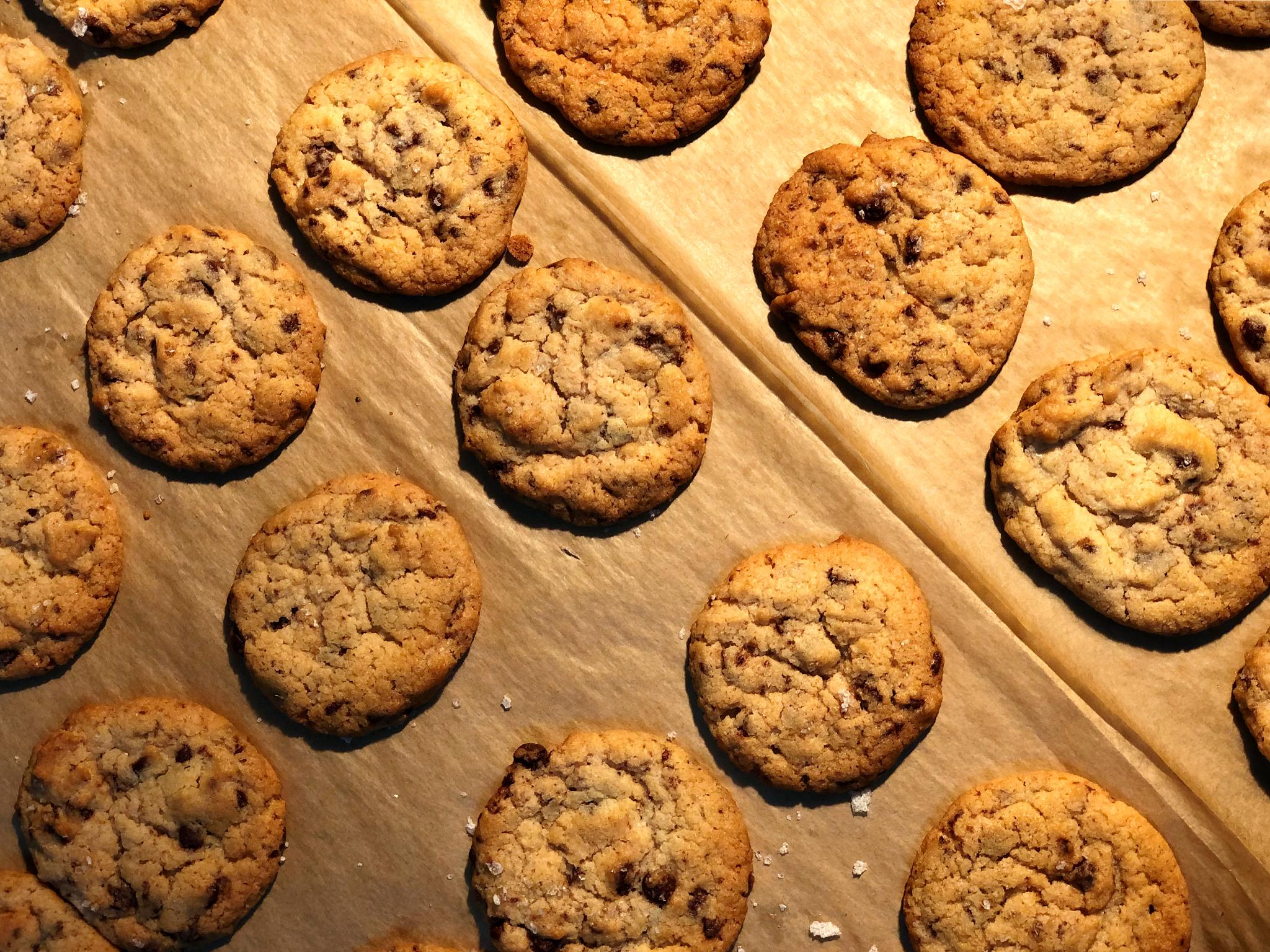 Bolachas, American Cookies, Almeja em Casa
