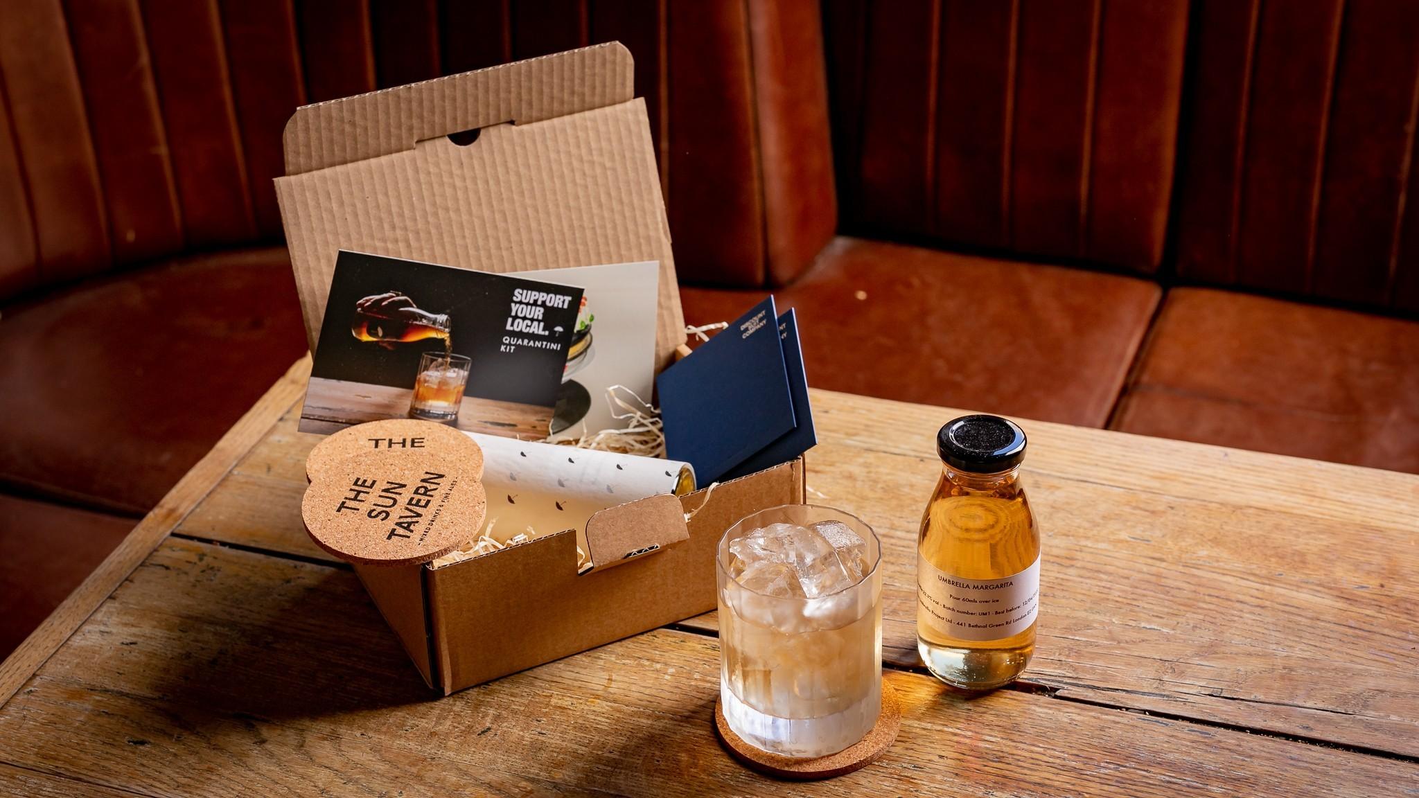 Sun Tavern bottled cocktails