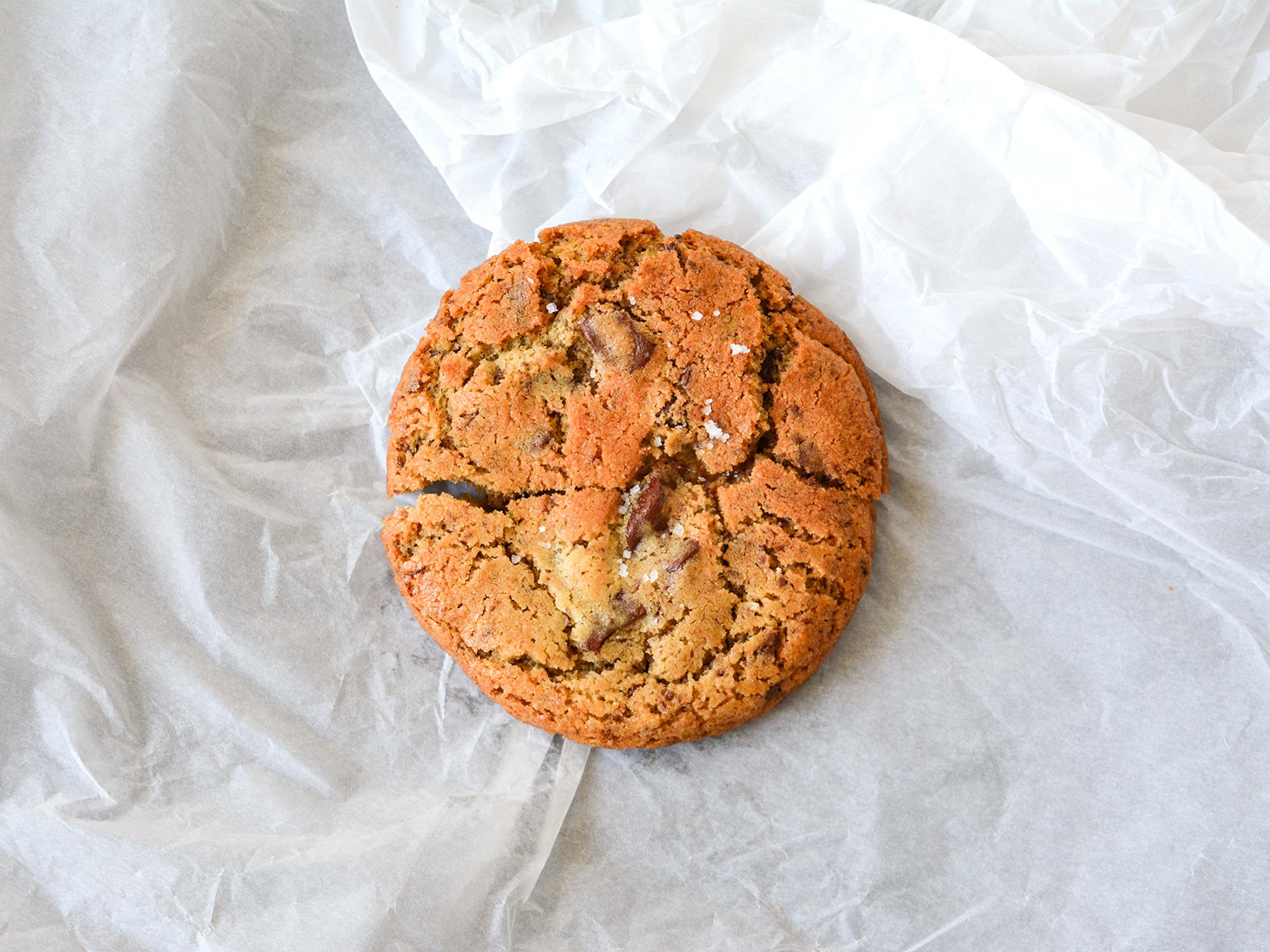 Bolachas, Cookies de Chocolate e Flor de Sal, Voltar Homemade Food