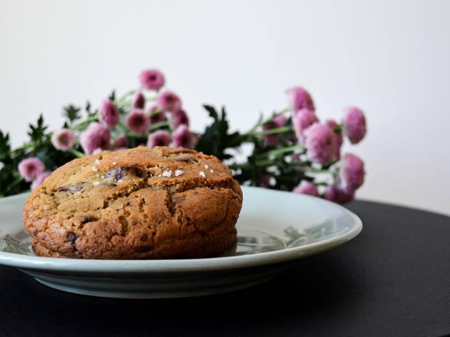 Bolachas, Voltar Homemade Food, Bolachas de Chocolate com Flor de Sal