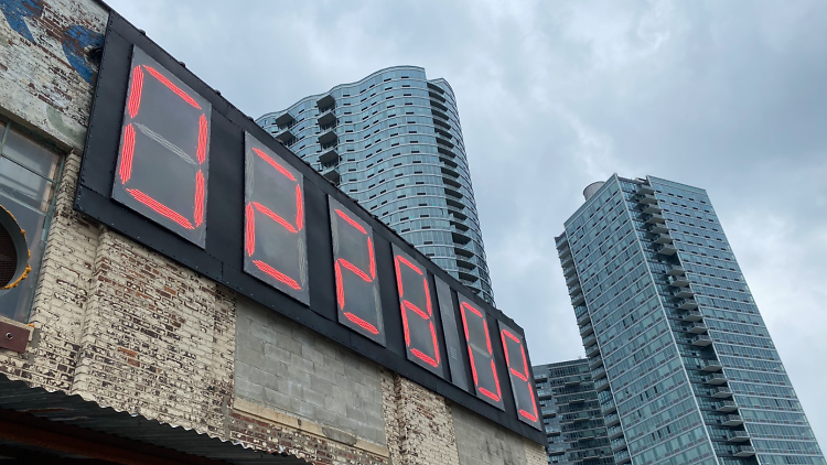 Trump presidency countdown clock