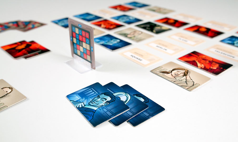 Codenames boardgame