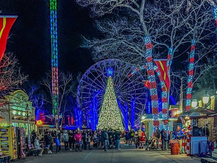 Six Flags' Holiday in the Park Winter Festival