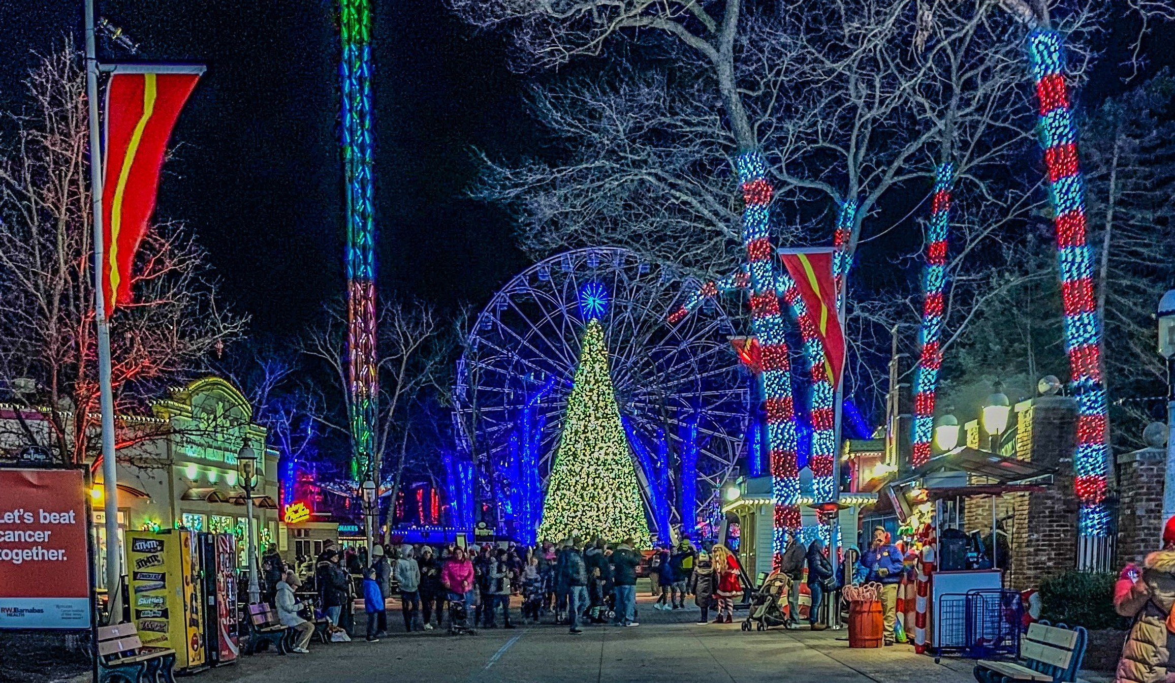 Six Flags' Holiday in the Park Winter Festival will debut brand-new attractions