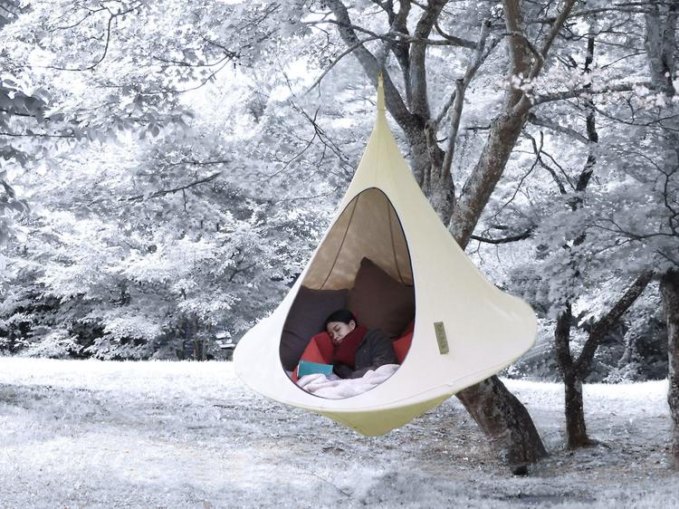 軽井沢の森の中で冬眠? ランチ付きのぬくぬくプラン