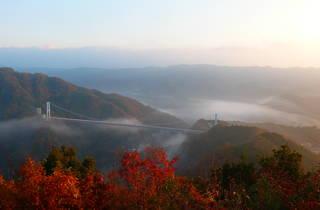 Autumn leaves Ibaraki prefecture