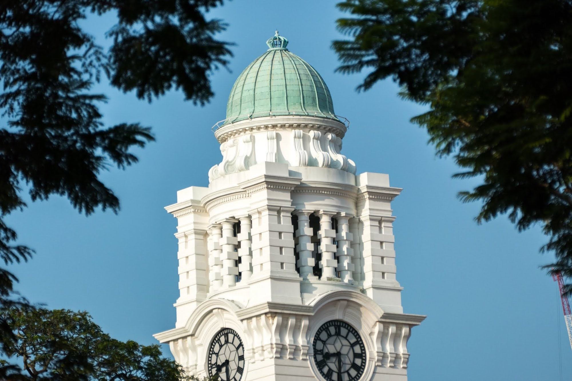 Be one of the first in history to climb the clock tower at Victoria Theatre and Concert Hall