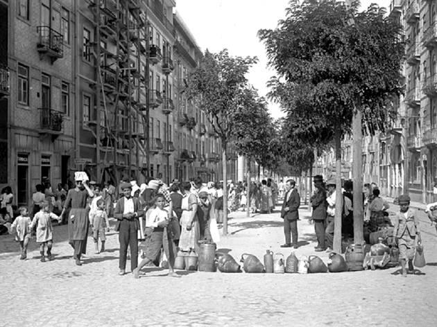 Chafariz, Rua Morais Soares, Pátio das Antigas