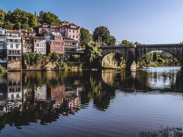 Amarante, Rio Tâmega, Ponte