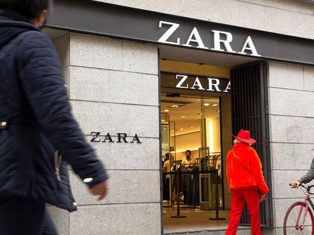 Zara calle Carretas Madrid