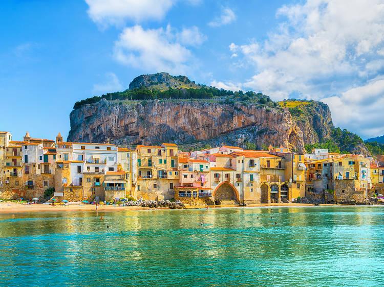 Cefalù historic centre, Sicily