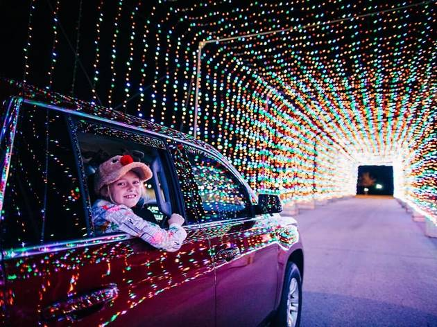 magic of lights holiday drive-thru
