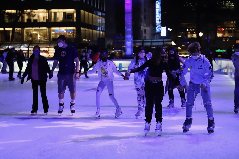 Bryant Park Winter Village ice rink
