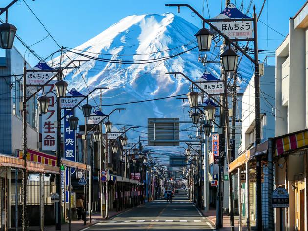 Fujiyoshida city, Mt Fuji