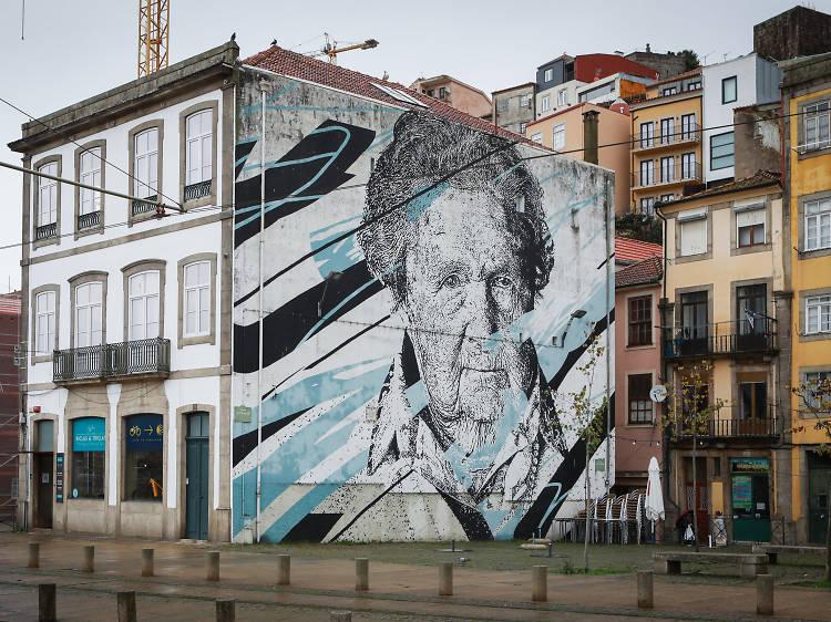 Roteiro da arte urbana no Porto