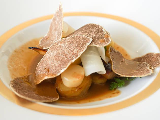 Alba White Truffle menu at Le Normandie