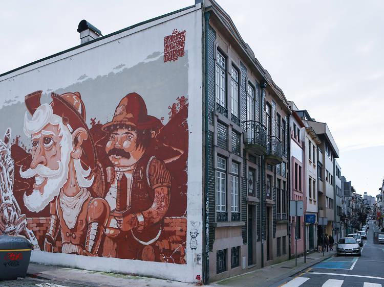Dom Quixote & Sancho Pança
