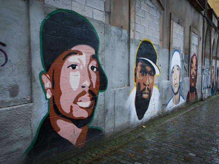 Mural de Kilos Graffiti