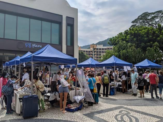Discovery Bay sunday market nov 2020