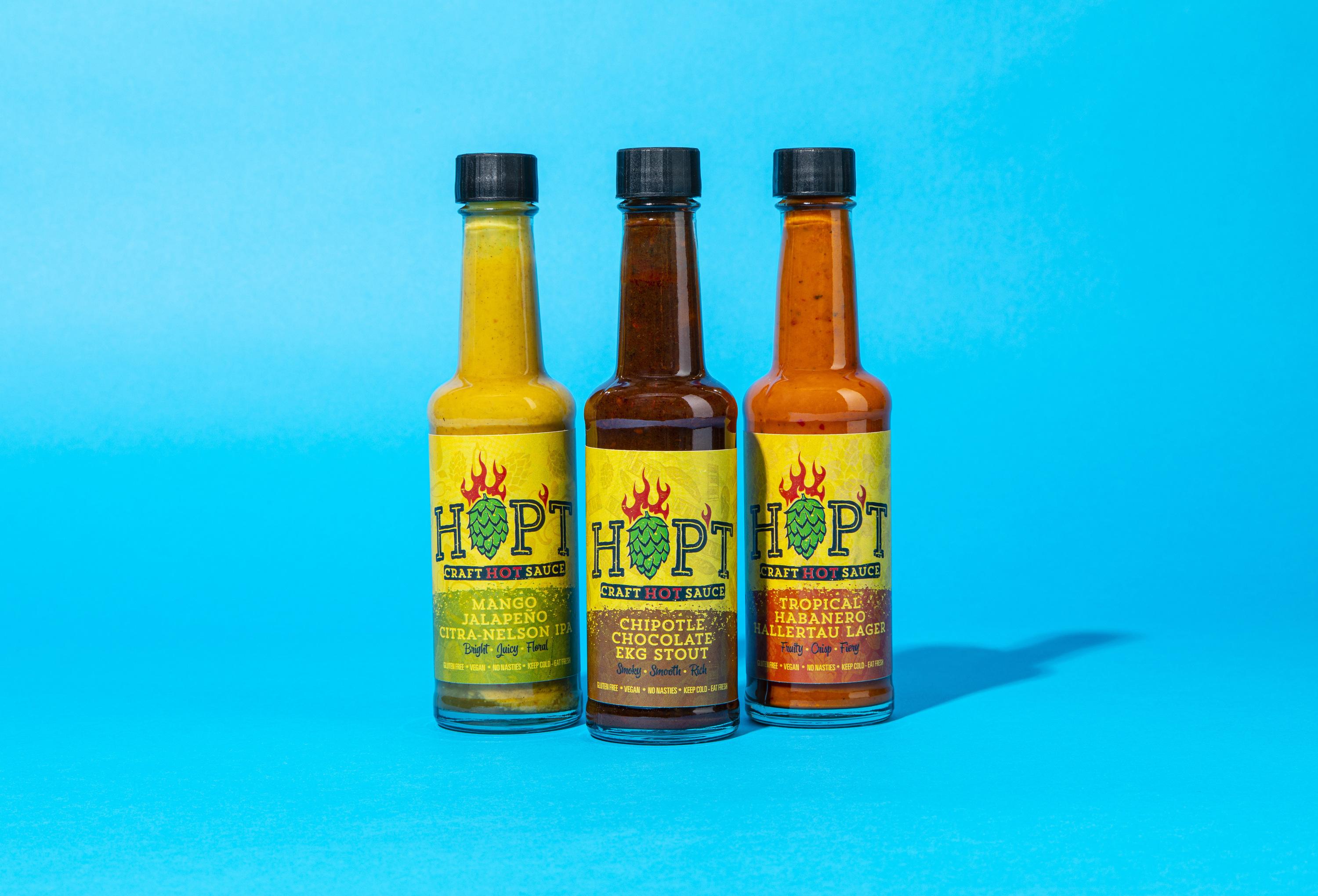 hopt, hot sauce, london makers