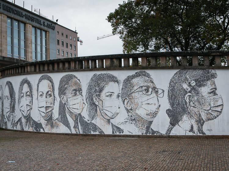 Vhils - Porto (Junho 2020)