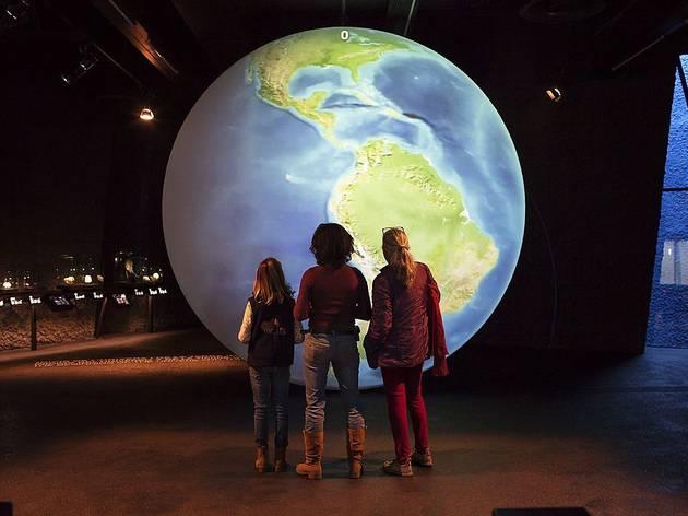 Visitants del Museu Blau