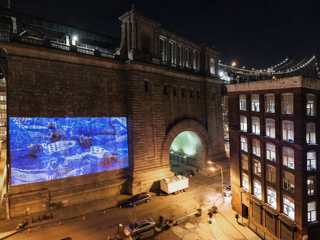 Light year projection dumbo
