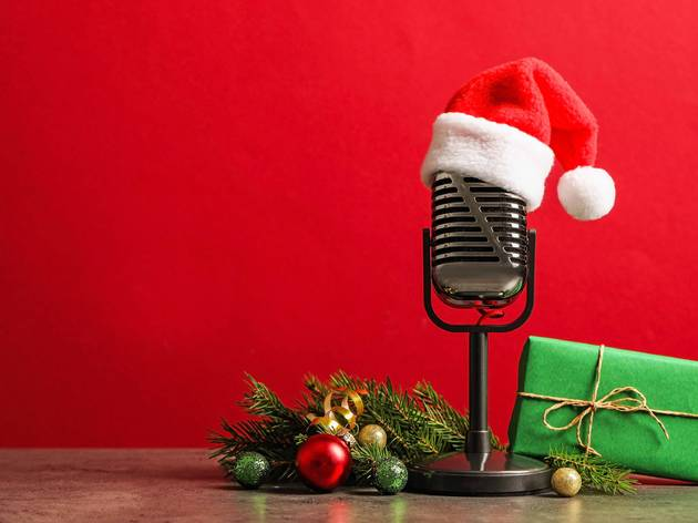 Holiday microphone