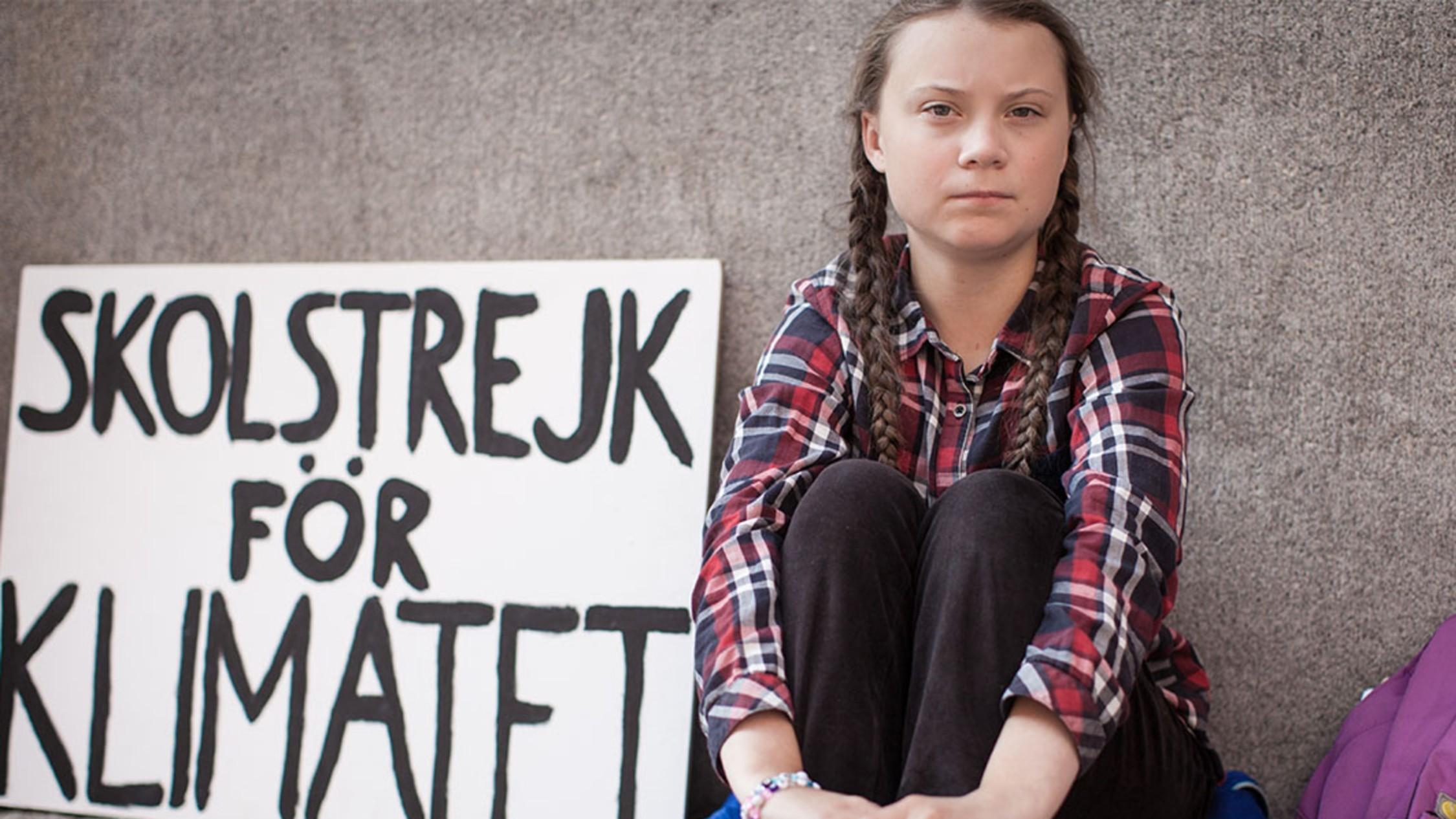 Yo soy Greta Thurnberg