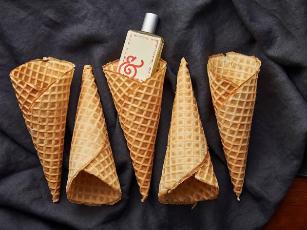 Salt & Straw waffle cone perfume