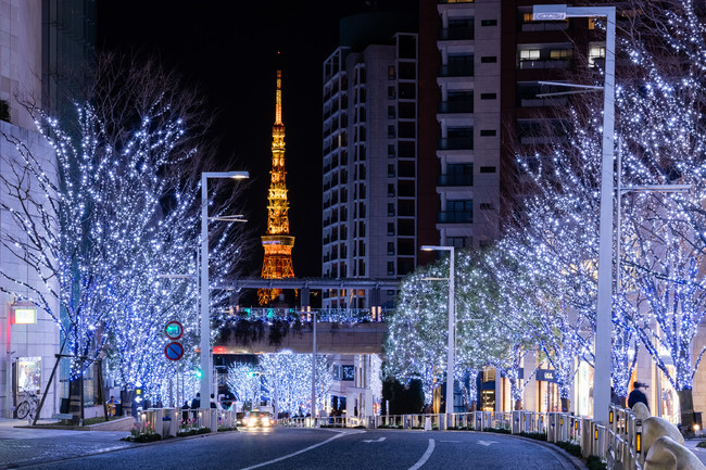 Incredible illuminations and light-ups in Tokyo