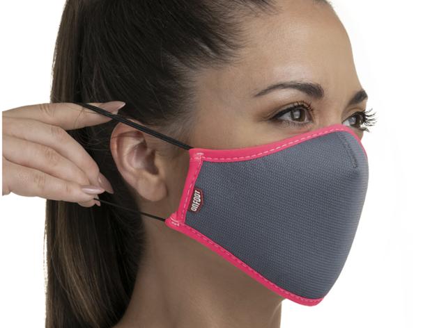 Smartmask On Foot. Mascarilla inteligente reutilizable