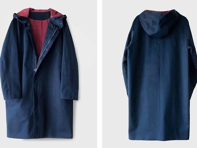 casaco com capuz (119€)