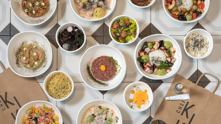 Restaurante virtual, Chef Kiho, TakeAway