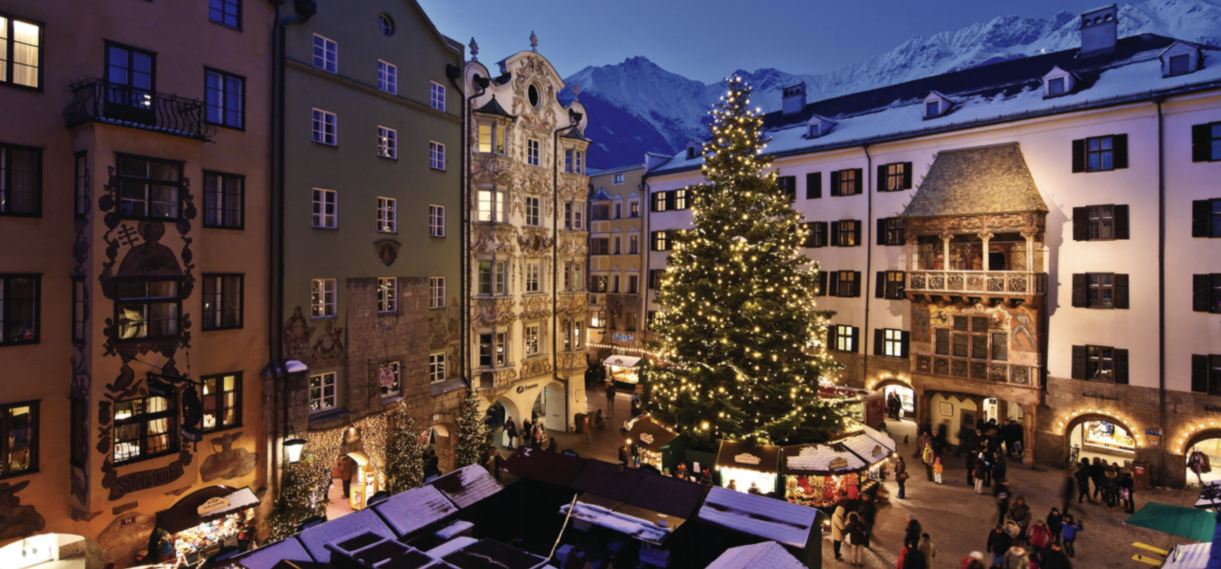Mercado de Navidad Innsbruck. Austria