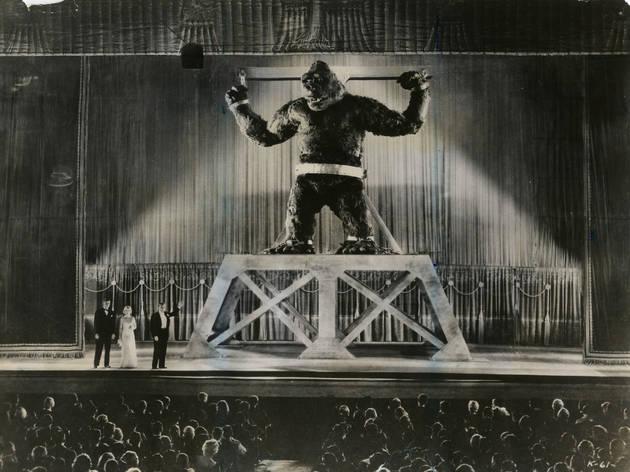 Primera versión de la película de King Kong, estrenada en 1933