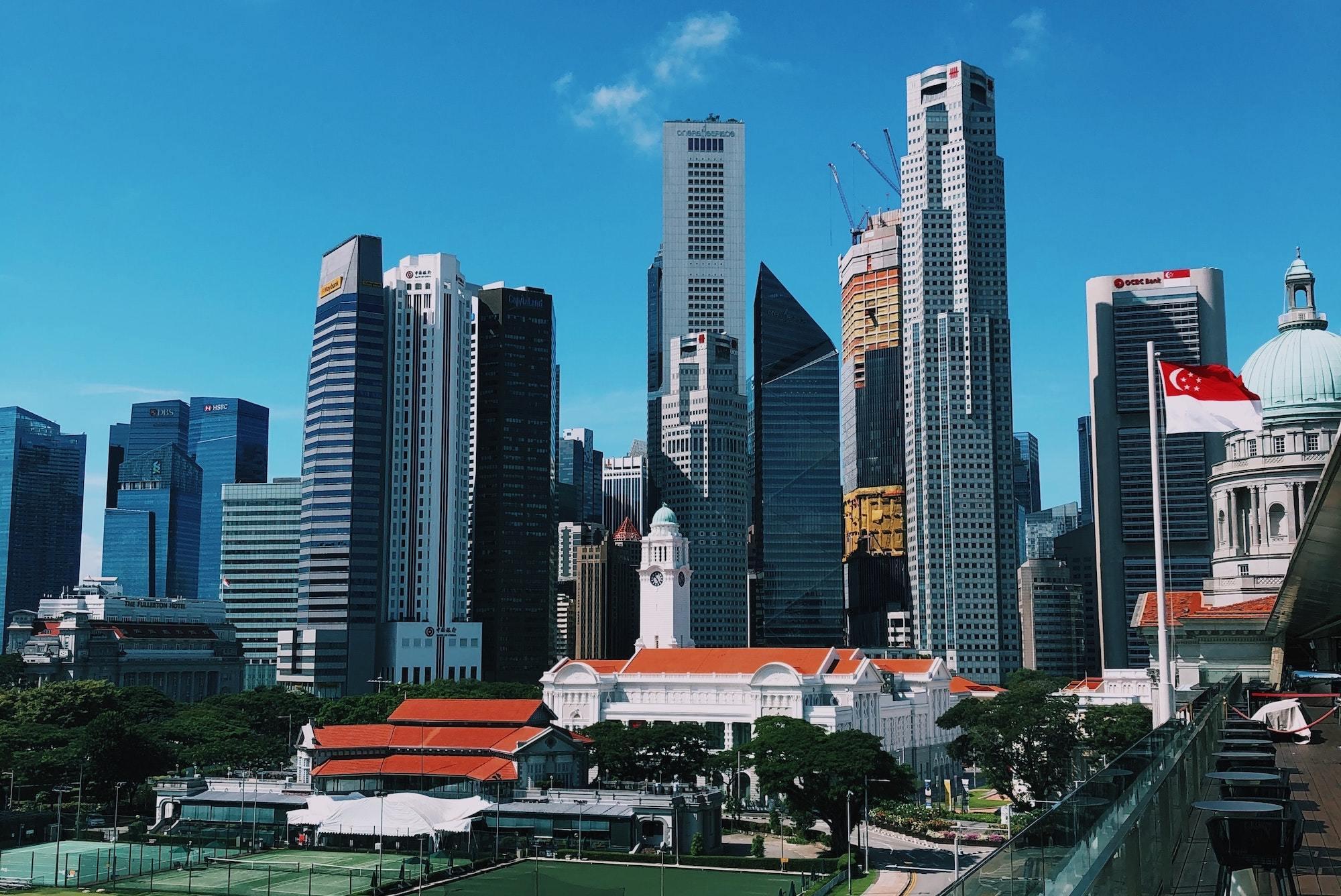 Singapore, buildings