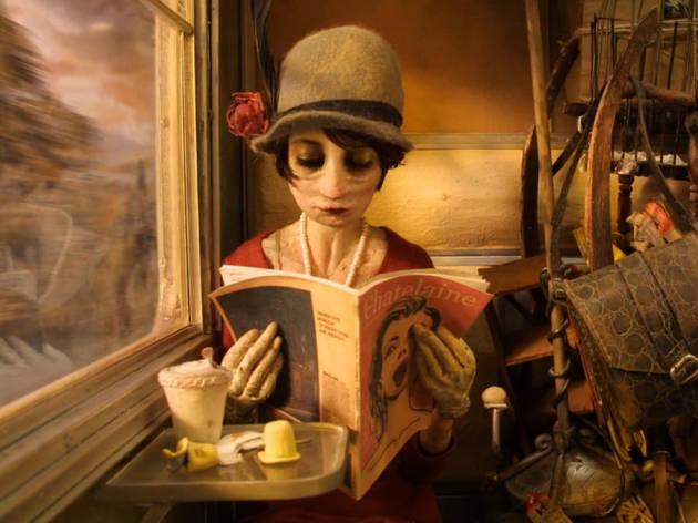 Madame Tutli-Putli, cortometraje nominado al Óscar por mejor corto animado